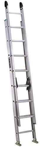 Louisville Ladder 16-Foot Aluminum Step Ladder, 225-Pound Capacity, Type II, W-2222-16PG