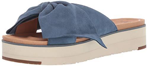 UGG Damenschuhe - Pantoletten Joan II - Dessert Blue, Größe:38 EU