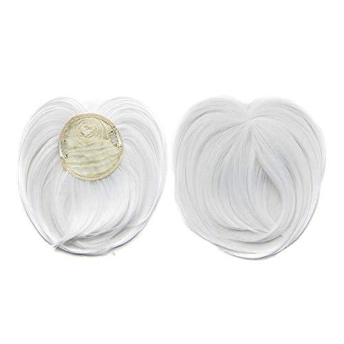 Fanville Clip-on Hair Topper Hitzebeständige Faser Haarverlängerung Perücke Haarteil für Frauen Unsichtbares Haarteil