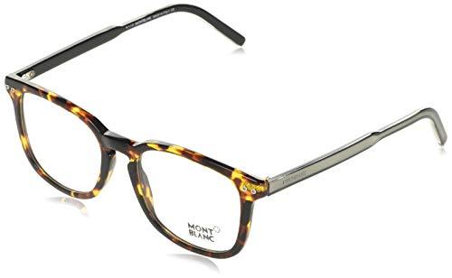 Montblanc Brillengestelle MB0630-A56-52 Rechteckig Brillengestelle 52, Braun