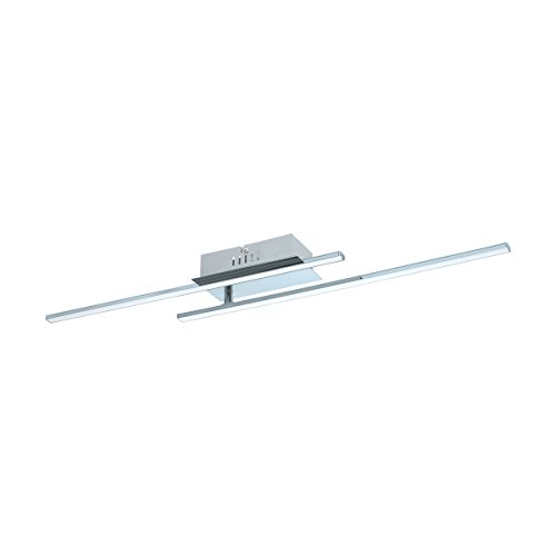 Preisvergleich Produktbild EGLO PARRI Deckenleuchte,  Aluminium,  12 W,  chrom