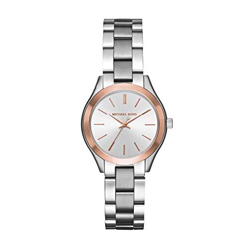 Michael Kors Reloj Analogico para Mujer de Cuarzo con Correa en Acero Inoxidable MK3514