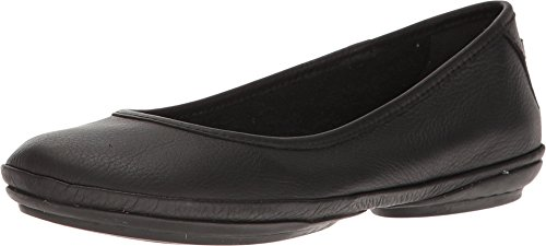 Camper Women's Right Nina K200387 Ballet Flat, Black, 39 EU/9 M US