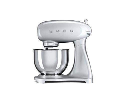 Smeg Robot culinaire Multifonction SMF01SVEU, Argent