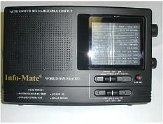 Info-Mate World Band Dynamo and Solar Radio