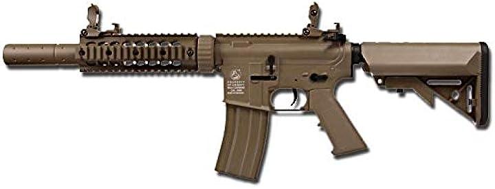 Cyber - gun fucile softair polimero colt m4 silent ops dark earth 0.9 joule - 180864 B07PK577CB
