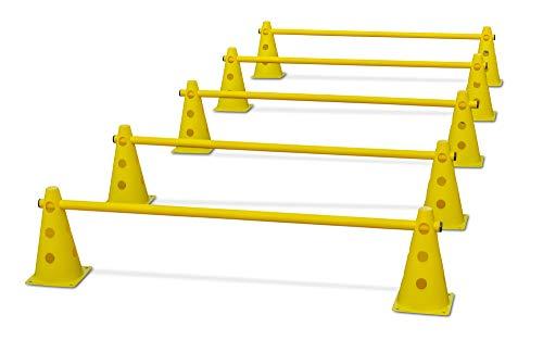 HAEST Steckhürdenset für Koordinationstraining - Gelb