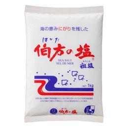 伯方の塩 1kg×(12個)     JAN:4902566004019