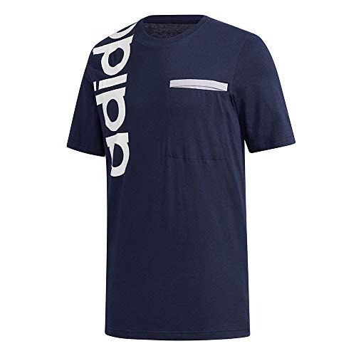 adidas M New A T Maglietta da Uomo, Uomo, Maglietta, GD5968, Tinley, S