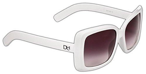 occhiali da donna bianchi Dice