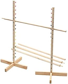 FlagHouse - Limbo Set - Wooden - Colored Pegs - Party Game - Flexibility Test
