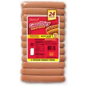 GWALTNEY GREAT DOGS HOT DOGS CHICKEN FAMILY PACK 48 OZ PACK OF 2