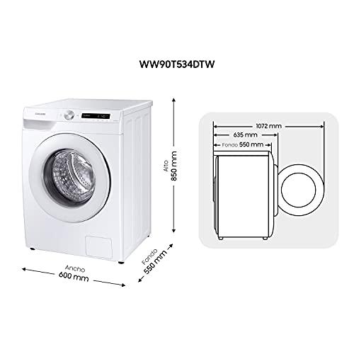 SAMSUNG WW90T534DTW/S3