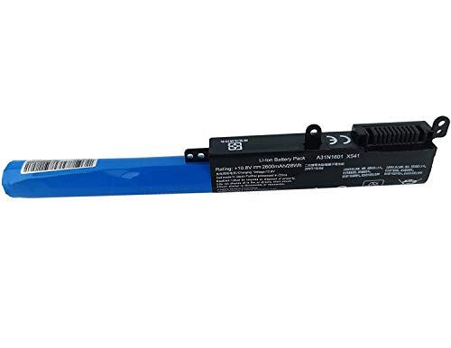 10.8V 2600mAh A31LP4Q A31N1601 Batería para ASUS F541 F541N F541NA F541SA F541NC F541U F541UA F541UJ F541UV X541 X541N X541NA X541NC X541S X541SA X541SC X541U X541UA X541UJ X541UV P541NA P541SA P541UA