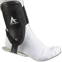 Active Ankle T2 Ankle Brace, Black Ankle Support for Men & Women, Ankle Braces for Sprains, Stability, Volleyball, Cheerleading, Medium
