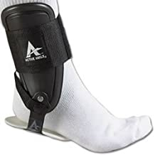 Active Ankle T2 Ankle Brace, Rigid Ankle Stabilizer for Protection & Sprain Support for Volleyball, Cheerleading, Ankle Braces to Wear Over Compression Socks or Sleeves for Stability, Various Sizes