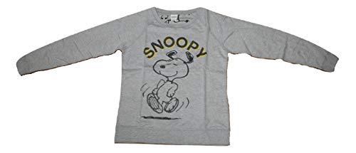 4481 スヌーピー ピーナッツ Snoopy Peanuts スウェット トレーナー レディース ガールズ グレイ 灰色 (XL) [並行輸入品]