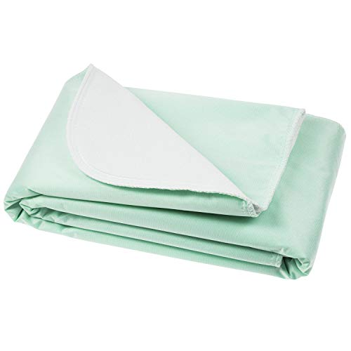 Vive Washable Incontinence Bed Pad - Heavy Duty, Absorbent...