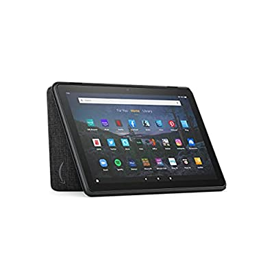 Amazon Fire HD 10 Tablet Cover (Only compatible with 11th generation tablet, 2021 release) – Charcoal Black