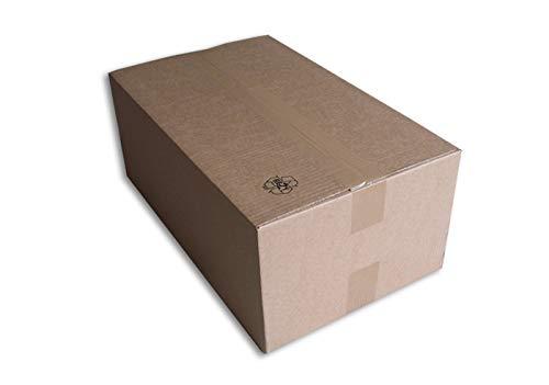 Lot de 10 Boîtes carton (N°60) format 500x300x200 mm