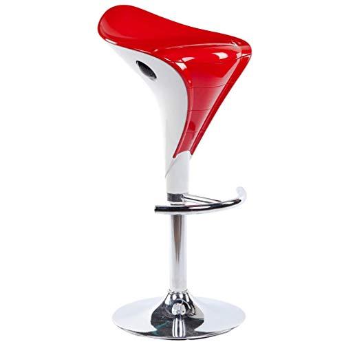 WTT Taburete de bar silla de bar simple y moderno taburete alto de moda decoración del hogar Silla de cubierta (Color: A3)