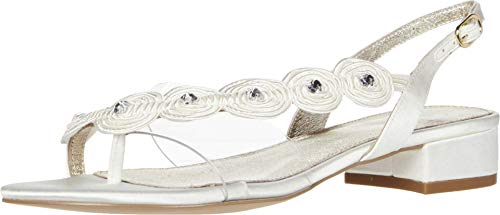 Adrianna Papell Women's Delilah Platform, Ivory, 8.5