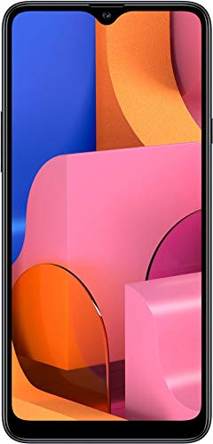 Samsung Galaxy A20S w/Triple Cameras (32GB, 3GB RAM) 6.5 Display, Snapdragon 450, 4000mAh Battery, US & Global 4G LTE GSM Unlocked A207M/DS - International Model (Black, 32GB + 64GB SD Bundle)