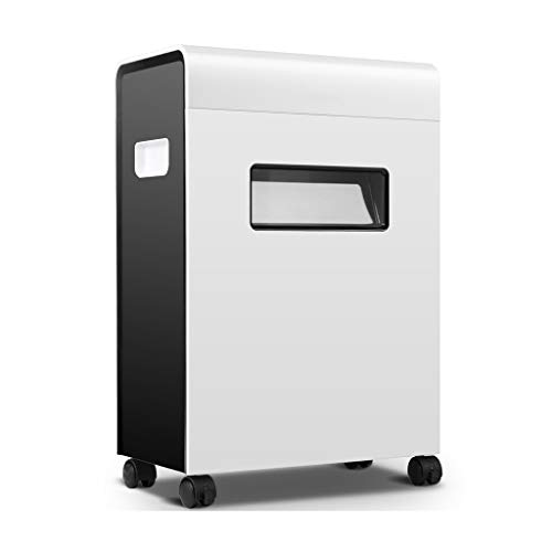 Review TUCY Document Shredder with Wheel Electric Shredder,Overload and Thermal Protection, 10 Minut...