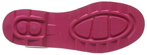 Beck Lifestyle Damen Gummistiefelette, Pink - 4