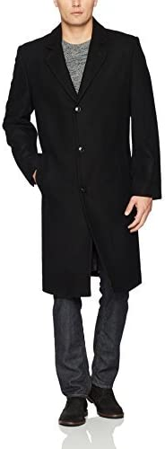 LONDON FOG mens Signature Wool-blend Topcoat