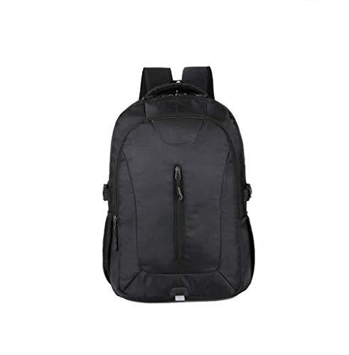 Zengzhijie Sac à dos extra large pour ordinateur portable, sac à dos résistant à l'eau pour les grandes entreprises, les collèges, l'école, l'école, les femmes et les hommes, Noir , 33*12*47CM