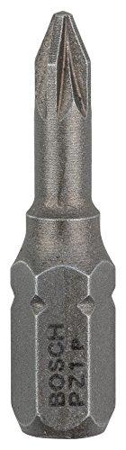 Bosch 2 607 001 554 - Punta de atornillar extra dura - PZ 1, 25 mm (pack de 3)