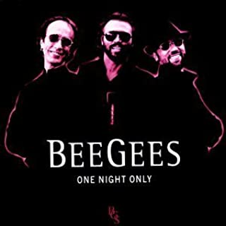 One Night Only Live Edition by Bee Gees (2002) Audio CD