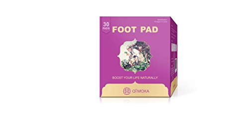 Qimoxa Detox Foot PadsUnique Foot Pad to Improve Vital EnergyFree 50 Page Copyright Ebook of Our Detox Patch and More Ebooks for Chinese Healing ArtTake Care You From Feet to Body