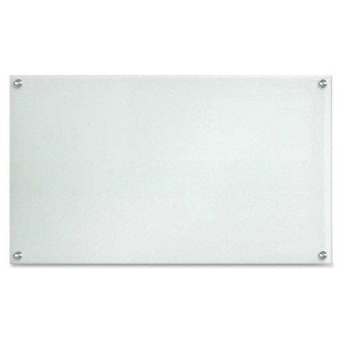 Lorell LLR52502 – Pizarrón de vidrio de borrado en seco, 121.92 x 91.44 cm, esmerilado, No magnético,…