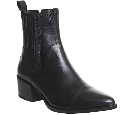 Vagabond Marja Black Leather Chelsea High Ankle Boots US5.5 EU36, US6 EU37, US7 EU38 (36)