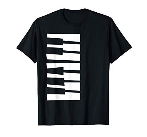 Teclado de Piano Camiseta