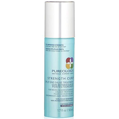 Pureology Strength Cure Split End Salve Hair Treatment | For Damaged, Color Treated Hair | Vegan | 1.7 oz.