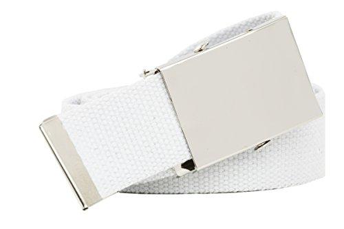 Shenky - Ceinture - Homme Blanc Weiß 140 cm