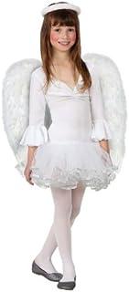 Atosa-17269 Atosa-17269-Disfraz De Angel niña infantil-talla 3 a 4 años blanco-Navidad, color (17269)