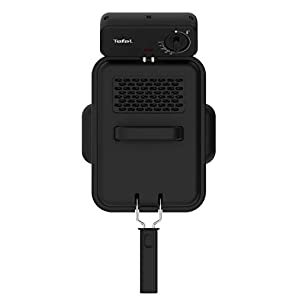Tefal FR5030 Family Pro Access Fritteuse (3000 Watt, 4 l Fassungsvermögen) edelstahl/schwarz