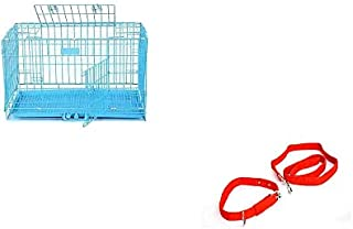 Health and Loveing Pets Dog Cage for New Born, (18 in) Baby to 5 Month Puppy Dogwith Dog Anti-Stress Collar