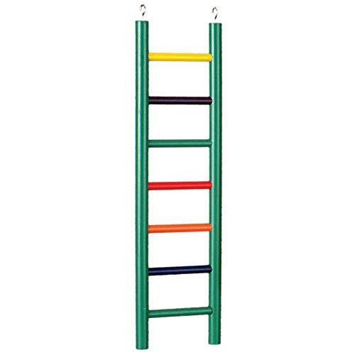 Prevue Pet Products 550-01136 Prevue Pet Products Carpenter Creations 7 Rung 15 en couleur unie Ladder de bois