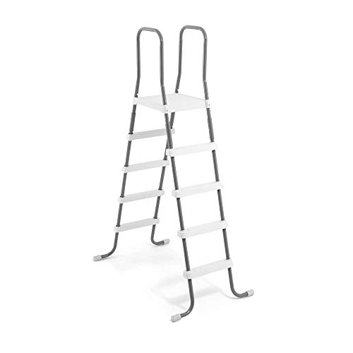 Intex 28067E Steel Frame Above Ground Swimming Pool 52' Pool Entry Step Ladder