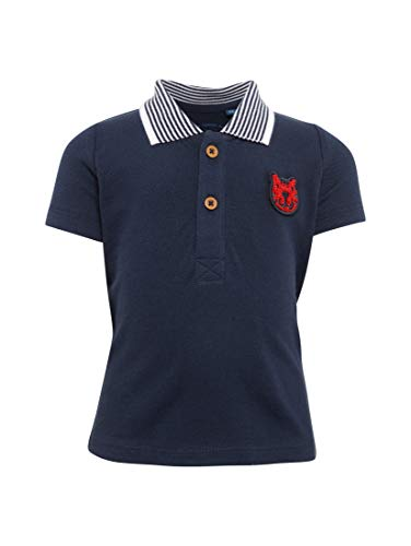 TOM TAILOR Kids TOM TAILOR Kids Unisex Baby Uni 1/2 Polo Poloshirt, Blau (Peacoat|Blue 3470), 68