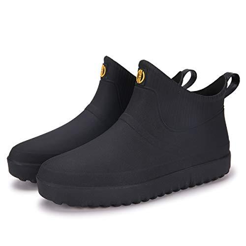 AONEGOLD Chaussures de Pluie pour Hommes Femmes Bottes...