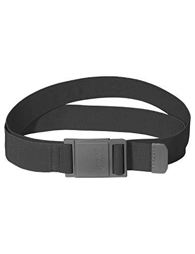 Jack Wolfskin, Cintura Elastica, Grigio (Dark Steel), Taglia Unica