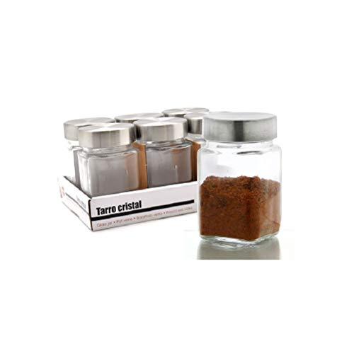 takestop® - Tarro de Cristal para Galletas, Transparente, con Tapa para Caramelos, Cereales, Tapa de Cocina, dispensador de Pasta, Recipiente para Caramelos, Boda