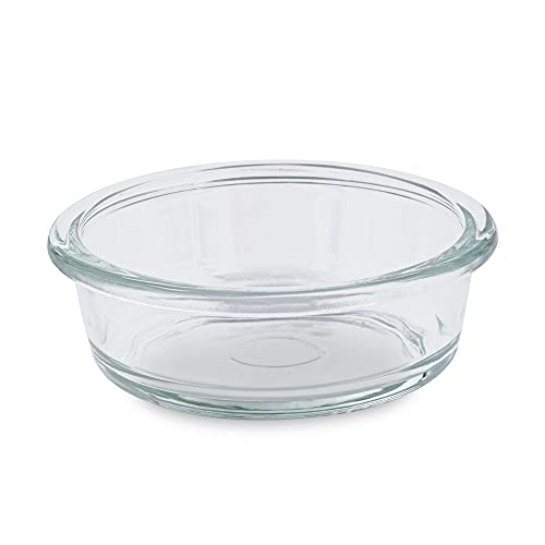 Petco Brand - Harmony Glass Bowl Insert for Pets, 1.75 Cups, Small, Transparent