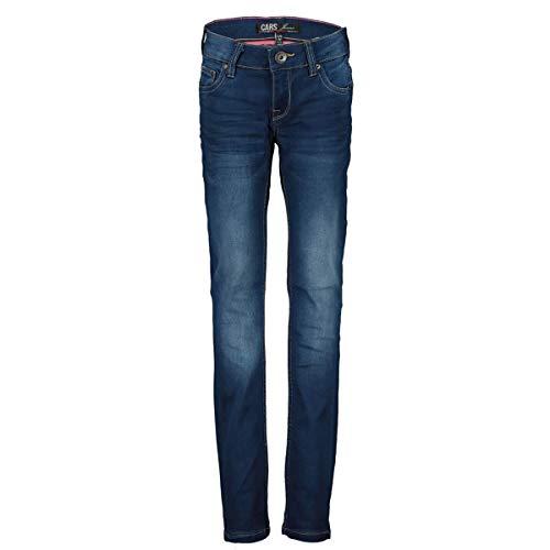 Weiche & stretchige Jeans in gewaschenem Dark Blue Skinny Fit schmale Weite von CARS JEANS 3509103 (152)